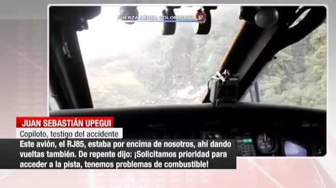 El pilot de l'avió del Chapecoense va alertar de la falta de combustible abans d'estavellar-se