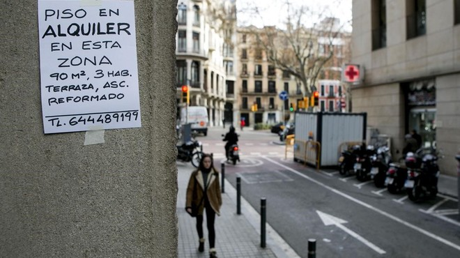 El lloguer augmenta el 9,9% el primer semestre a Catalunya