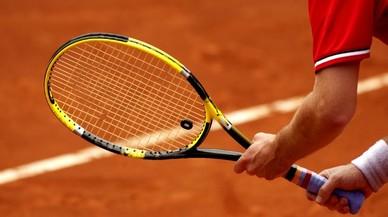 La Guardia Civil ha investigado a nueve tenistas por amaño de partidos.