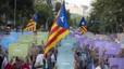 Assaig de la Via Lliure a Gràcia