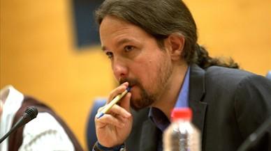 """Iglesias cree que Rajoy """"es capaz"""" de usar la fuerza para impedir el referéndum"""