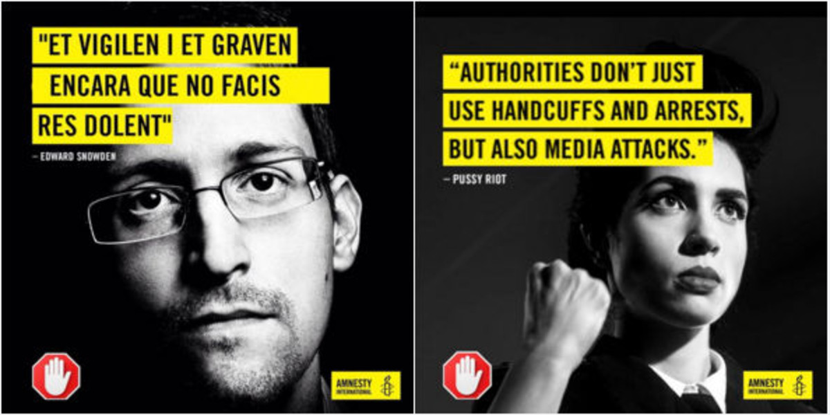 """Snowden: """"Aunque no cometamos ninguna irregularidad, nos vigilan y nos graban"""""""