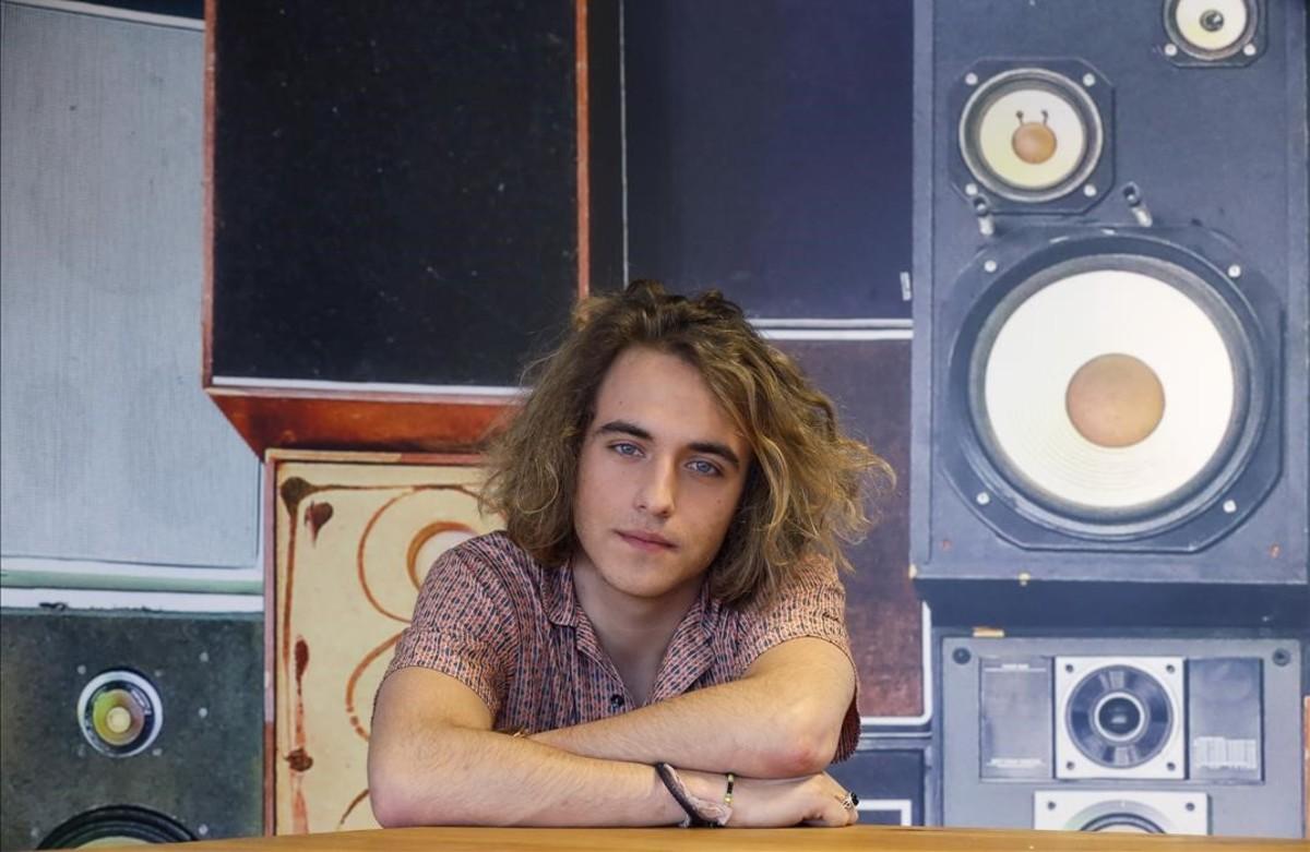 El cantante Manel Navarro, elegido para representar a TVE en el Festival de Eurovisión.