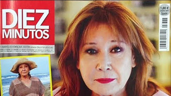 Mila Xim�nez, concursante de 'Supervivientes 2016', protagoniza la portada de 'Diez Minutos'.