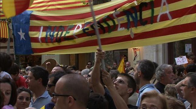 '30 minuts' bat rècords amb l'independentisme
