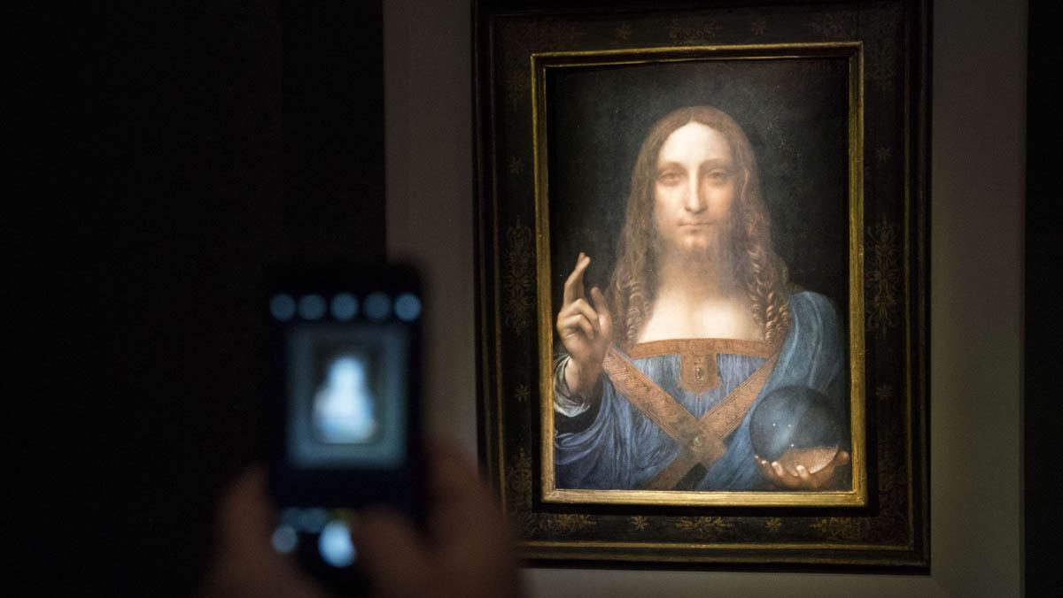 Pujador anónimo paga casi 400 millones de euros por un cuadro de Leonardo da Vinci