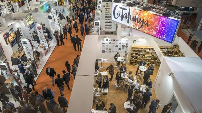 La empresas catalanas en uno de los pabellones de Alimentaria.