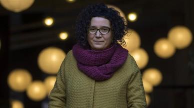 Tina Vallès, ganadora del segundo premio Llibres Anagrama de novela.