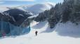 El trabajo que esconde una gran nevada