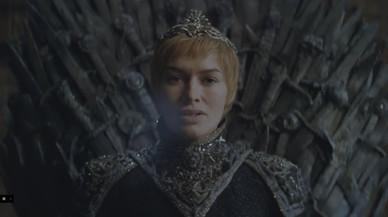 La actriz Lena Headey, como Cersei, en el nuevo 'trailer' de la serie de la cadena HBO.