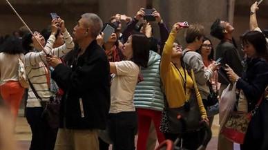 El número de reservas de viajes a Catalunya cayó el 12% en octubre