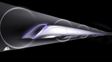 El tren futurista Hyperloop arriba a Europa
