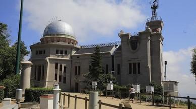 El Observatorio Fabra, junto al Tibidabo, tras las obras de restauración.