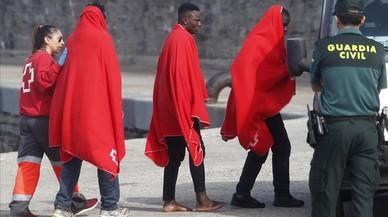 Casi 350 inmigrantes llegan a las costas españolas en un día