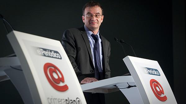 Intervenció d'Alfred Bosch, candidat d'ERC a les eleccions generals, en el Fòrum Primera Plana.