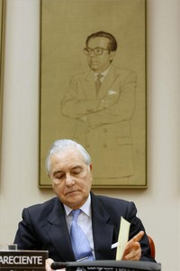 El presidente del Consejo General del Poder Judicial, Carlos Divar.
