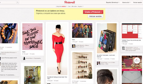 Plataforma de Pinterest