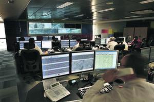 Centro de control de TMB.