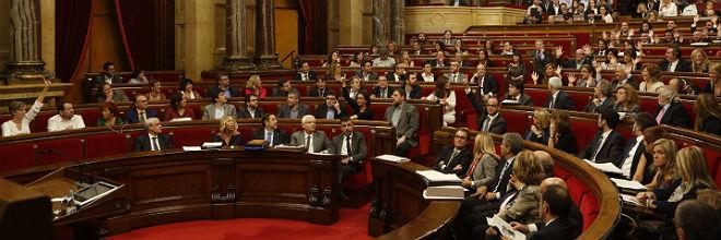 Trifulca en el Parlament por la designaci�n de la comisi�n del 9-N