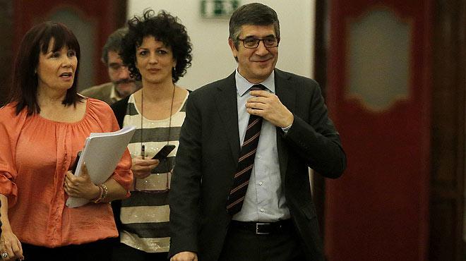 Patxi López anuncia que el pleno de investidura se avanza un día