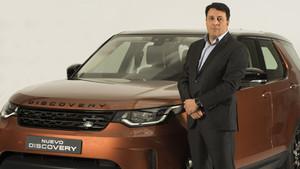 Luis Antonio Ruiz, presidente y consejero delegado de Jaguar-Land Rover España.