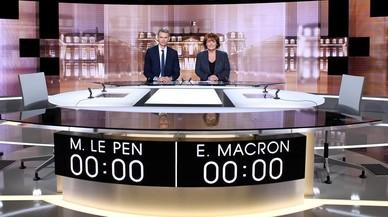 Macron i Le Pen, davant el decisiu debat cara a cara d'aquesta nit