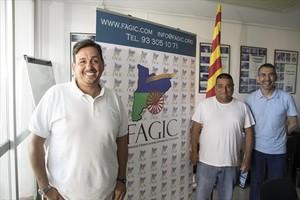Comprometidos 8 Simón Montero, Manel Carbonell y Miquel Torres.