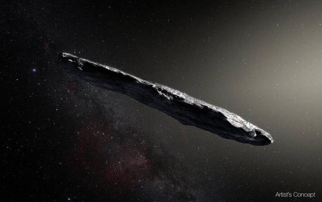 Oumuamua, el primer asteroide interestelar, asombra a los científicos