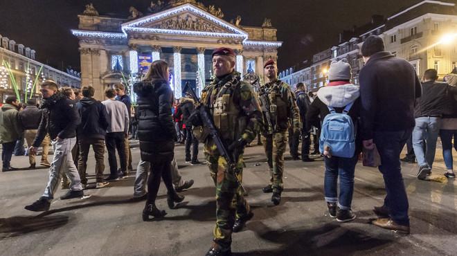 Els brussel·lesos es queden a casa després de l'anul·lació de part de les celebracions