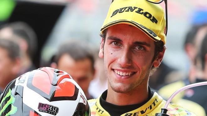 �lex Rins (Kalex), piloto de Moto2.