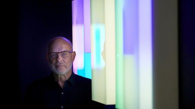 La luz y el sonido según Brian Eno