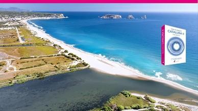 """Playas y calas en Catalunya, del libro """"Todas las playas de Catalunya"""" en la foto Cala del Pi."""