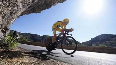 El Tour, en directo: Landa se queda a un segundo del podio