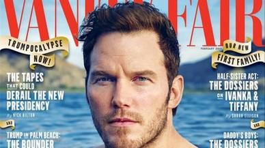 El actor Chris Pratt muestra su nuevo torso en 'Vanity Fair'.