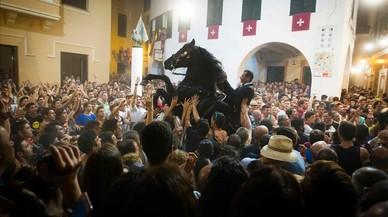 Quatre ferits en les festes de Sant Joan de Ciutadella