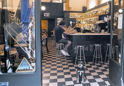 'Barcelona con perro'