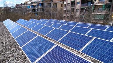 Ejemplo de rehabilitación energética en una azotea de la ciudad de Barcelona.