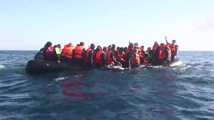 V�deo de M�dicos Sin Fronteras sobre la gesti�n de la UE del flujo de refugiados.