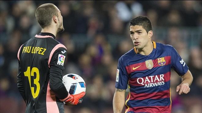 Competició castiga Suárez amb dos partits