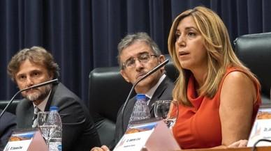 Susana Díaz defensa que ni Chaves ni Griñán es van enriquir amb el 'cas ERO'