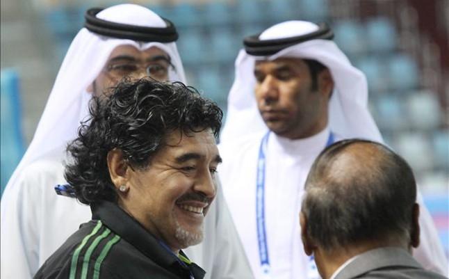 Maradona tendr� un hijo de su novia Ver�nica Ojeda