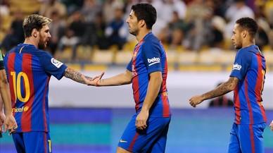 El Barça recupera el seu trident més letal