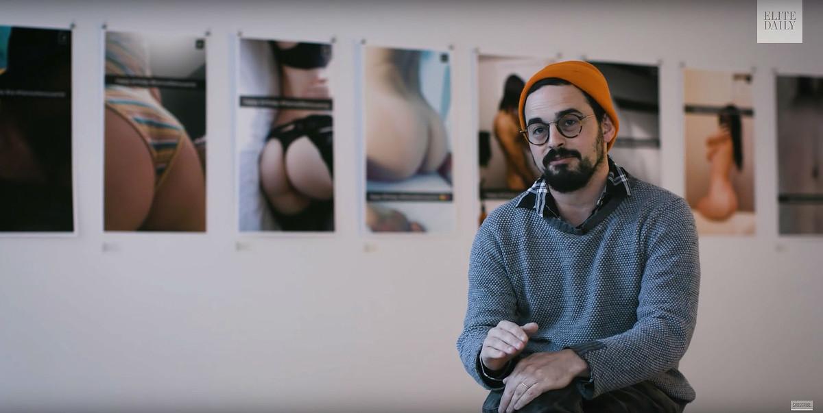 Desnudos de Snapchat convertidos en obras de arte