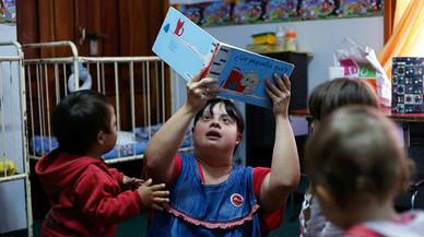 Noelia Garella aconsegueix convertir-se en la primera professora titular amb síndrome de Down a l'Argentina