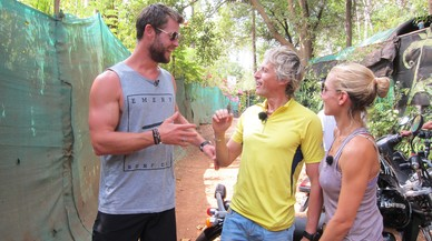 Chris Hemsworth, evacuado en 'Planeta Calleja'