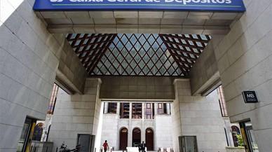 Sede de la Caixa Geral de Dep�sitos en Lisboa.