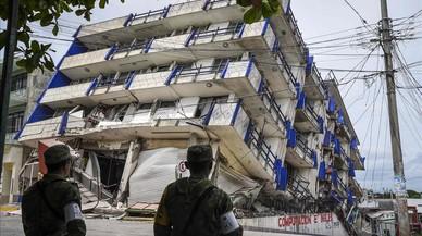 El terremoto más potente del siglo provoca al menos 60 muertos en México