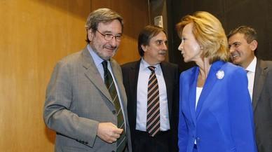 PSOE i PP demanen les compareixences de Rato, Solbes i Salgado al Congrés