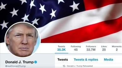 Demandan a Trump por bloquear a usuarios en Twitter