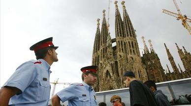 Barcelona protege la Rambla con bolardos y peatonaliza el entorno de la Sagrada Família